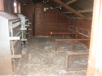 Empty Chicken Shed